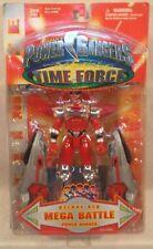 Power Rangers Time Force - Ultimate Deluxe Red Mega Battle Power Ranger (MOC)