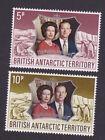 British antarctic territory 1972 Elisabetta II queen elizabeth royal MNH ** OG