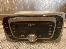 FORD KUGA C-MAX SONY DAB MP3 STEREO RADIO CD PLAYER HEAD UNIT 8V4T-18C939-LD