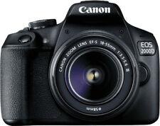 Canon EOS 2000D Kit 18-55 mm - 16GB SD - Spiegelreflexkamera 24MP - Wie neu OVP