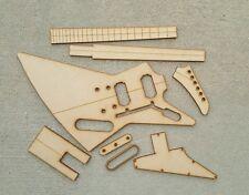 Explorer Guitar Template Set