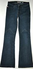 Miss Sixty Women's Dark Blue Clint Boot Cut Jeans 27X30 Stretch AWESOME ITALY