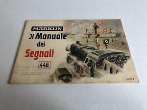 Marklin Märklin Manuale dei segnali in italiano 446/99 (0353)