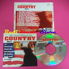 CD THE GREAT SOUND OF COUNTRY VOL 2 Compilation JOHNNY CASH no mc vhs dvd(C38)