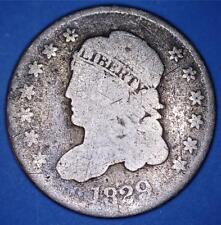 1829 LM-8 V-17 BUST HALF DIME LM RARITY-7 - AMONG RAREST DIE MARRIAGES - *8291