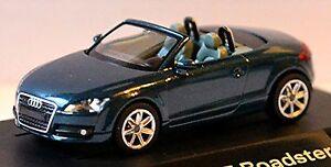 Audi Tt Roadster 8J 2007-10 Petrol Blue Metallic 1:87
