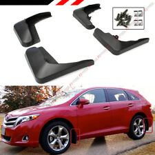 FOR 2008-2016 TOYOTA VENZA 4 PCS FRONT + REAR SPLASH GUARD MUD FLAPS SET
