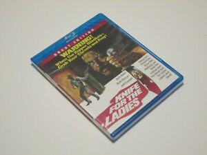 Knife For The Ladies Blu-Ray Code Red REGION A RARE OOP
