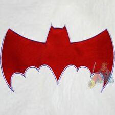 Batman Red Bat Logo Batmobile Embroidered Patch Adam West TV Serie Robin Joker