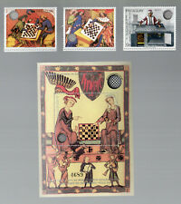 rare  timbres stamps echecs, chess, neuf**