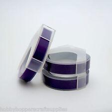 Motex Labeller Tape Refill Purple Trio x 3