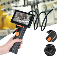 "Waterproof Pipe HD Video Borescope Inspection Monitor Endoscope 4.3"" LCD Camera"