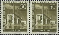 Berlin (West) 150 waagerechtes Paar postfrisch 1956 Stadtbilder