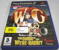 Wallace & Gromit The Curse of the Were-Rabbit PS2 PAL *Complete*