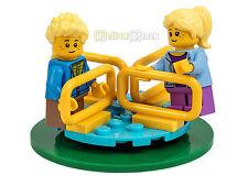 LEGO® City Kinder mit Karussell Figur Junge Mädchen kurze Beine NEU aus 60134
