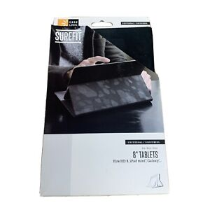 "NEW Case Logic SureFit Folio Case 8"" Tablet Universal Fire HD 8 Ipad Mini Galaxy"