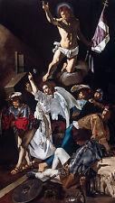 Francesco Buoneri, Cecco del Caravaggio - The Resurrection, Art Canvas Print