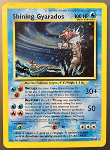 Shining Gyarados 65/64 - Neo Revelation Set - Holo Secret Rare - Pokémon Card