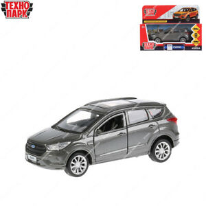 Tehnopark Diecast Vehicles Ford Kuga Gray Russian Toy Cars 12 cm