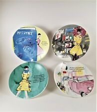 Kate Spade New York Grand Tour Tidbit Plates Set of 4