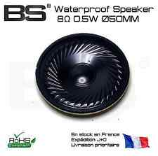 Speaker haut parleur 0.5Watt 8Ohm diameter 50mm waterproof membrane