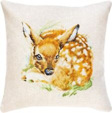 """Counted Cross Stitch Kit LUCA-S - """"Fawn. Pillow"""""""