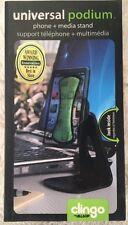 "NEW ALLSOP ""CLINGO"" Universal Podium Phone & Media Stand 30262"