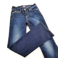 Women's Denizen From Levi's Modern Skinny Jeans Stretch Size 2M 26x32 Boot Cut