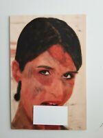 UNIKAT Malerei auf Holz,Oil Paints on Wood Erotik nude Viktoria Cox