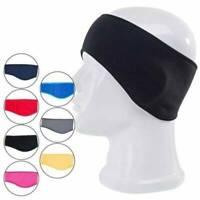 Ear Warmer Winter Head Band Sports Fleece Ski Ear Muff Unisex Stretch Headwrap