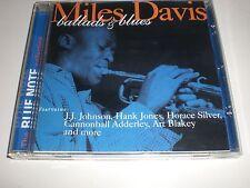 CD Miles Davis - Ballads & Blues - BLUE NOTE 1997 - VG+/NM