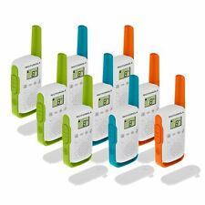 9 x Motorola TALKABOUT T42 Nine Pack Two-Way Radios Childrens PMR 446 Compact