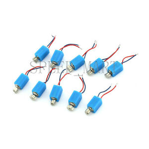 10 pcs Pager and Cell Phone Mobile Cylinder Vibrating Micro Motor 2.5V-4.0V DC