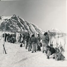 Chasseurs Alpins c. 1935 - La Turra Section en Repos - NV 53