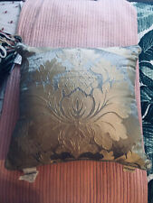 BRAND NEW AUSTIN HORN CLASSSIS SAGE/GOLD DAMASK SQUARE PILLOW