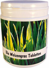 Bio Weizengras Tabletten, 500g, 1250 Tabletten, aus eigenem Anbau vom Bodensee