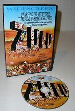 Zulu - a 1964 War Drama film starring Michael Caine (Dvd, 2002) (Used)