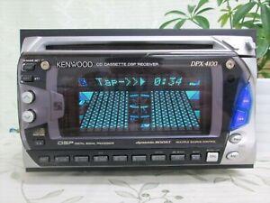 KENWOOD DPX-4100 2DIN CD & CASSETTE DECK USED