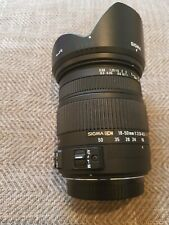 Sigma Zoom DC 18-50 1:2.8 Optically Stabilized Zoom lens, SA mount