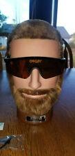 Oakley Razor Blades Heritage Sunglasses OO9140-12 Black/Fire Iridium NEW