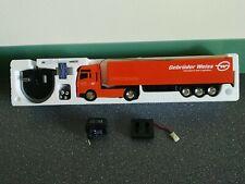 Dickie LKW MAN Truck Sattel Werbetruck Ferngesteuert Neu OVP mit Zubehör