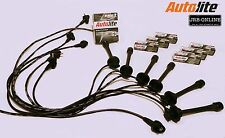 suits TOYOTA CAMRY VIENTA 3VZ-FE VDV10 PETROL SPARK PLUGS & IGNITION LEADS 92-00