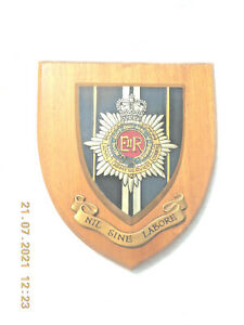 ROYAL ARMY SERVICE CORPS.       WALL PLAQUE/ CREST / SHIELD