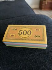 1995 Monopoly Deluxe Edition -Parts - Replacement Money Brand New Free Shipping