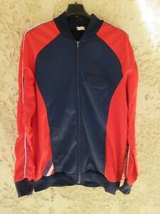 Veste PATRICK vintage années 80 U.A CHANTIER sport jacket bleu marine jacke L