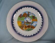 Indian City USA Decorative Collector State Plate Anadarko Oklahoma Colorful (O)