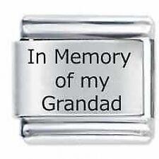 IN MEMORY OF MY GRANDAD * Daisy Fits Nomination Classic Italian Charm Bracelet