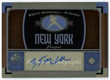 Brett Marshall 2012 UD SP Signature Edition Baseball Autograph Auto Card C133