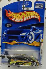 FOCUS RS BLACK MEGUIARS 037 37 RACE CAR RALLY DRIFTER FORD 2001 HW HOT WHEELS