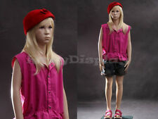 Child Fiberglass Mannequin Dress Form Display #Mz-Sk02
